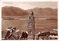 Cartolina - Postcard - Gaeta - panorama - Campanile Duomo - 1940