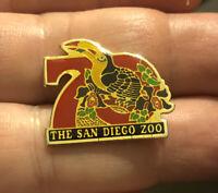 SAN DIEGO ZOO 70th Anniversary Toucan Lapel Pin