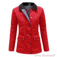 Cappotti e giacche da donna parke rossi con bottone