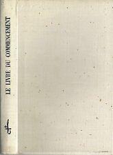 RARE EO N° ROBERT MOREL + EDMOND FLEG : LE LIVRE DU COMMENCEMENT ( LA BIBLE )