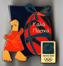 ATHENS 2004. OLYMPIC GAMES. OLYMPIC PIN. HAPPY EASTER 2. MASCOT ATHENA