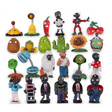 24 X Plants VS Zombies Toys Series Games Different Roles of Figure Toy PVC Doll