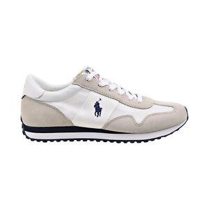 Polo Ralph Lauren Train 85 Men's Shoes White-Navy-Grey 809821686-001