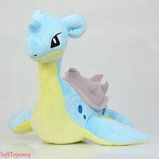 "19"" Lapras Pokemon Center Nintendo Cute Soft Plush Doll Christmas Toys Gift"