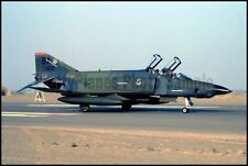 USAF RF-4C Phantom 67th TRW 91st TRS Taxis On Runway Pisco AB 1987 8x12 Photo