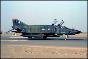 USAF RF-4C Phantom 67th TRW 91st TRS Taxis On Runway Pisco AB 1987 8x12 Photo