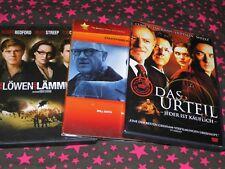 THRILLER-DVD-Set-TOM CRUISE-Robert Redford-GENE HACKMAN-Will Smith-Polit-Justiz