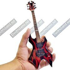 Mini Guitar scale 1:4 KERRY KING SLAYER KK WARTRIBE miniature gadget collectible