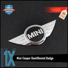 MINI Cooper Boot Bonnet Emblem Logo Main BADGE CLUBMAN COUNTRYMAN COUPE S