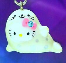 Hello Kitty X Yokohama Aquarium Sea Lion Swarovski Elements Crystal Japan Charm