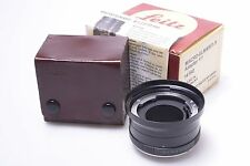 LEICA '14198' 3CAM R 1:1 MACRO ADAPTER FOR 60MM & 100MM LENS IN THE BOX, W/ CASE