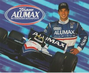 1998 Helio Castroneves Alumax Mercedes-Benz Reynard CART Champ Car Hero Card