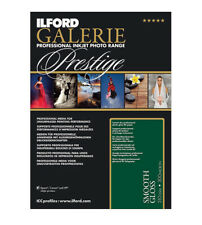 Ilford GALERIE Prestige Smooth Gloss 8.5x11 Inches, 100 Sheet Pack 2001739