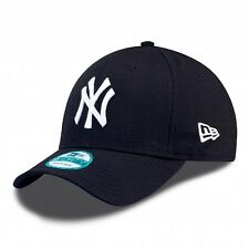 New York Yankees MLB Baseball New Era 9Forty Cap Kappe Navy weißes Logo One Size