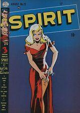 The Spirit #22 Photocopy Comic Book