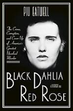 BLACK DAHLIA, RED ROSE - EATWELL, PIU MARIE - NEW HARDCOVER