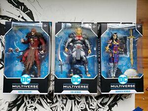 McFarlane Toys DC MULTIVERSE / The Demon King Shazam! Wonder Woman / NEW IN HAND