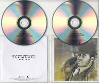 TAJ MAHAL The Hidden Treasures Of 1969-1973 UK 22-track promo test 2-CD