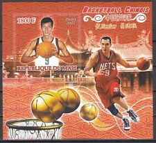 Mali, 2011 issue. Chinese Basketball Players, IMPERF s/sheet.