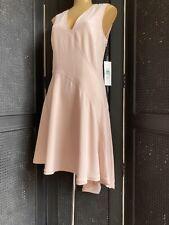 DKNY Blush Pink Occasion Dress NEW Avant-garde Wedding, Party Asymmetric UK10-12