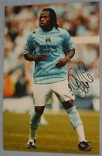 Emile Mpenza signed photo (Man City,Belgium)