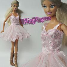 Nice Dress(Light Pink Suspender skirt)  Outfit BJD YOSD 1/6 SD DZ BJD Doll