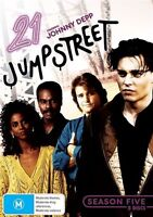 21 Jump Street : Season 5 (DVD, 2012, 5-Disc Set) - Region 4