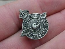 ORIGINAL WWII RCAF RESERVE PIN / BADGE