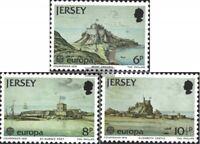 GB-Jersey 177-179 (kompl.Ausg.) postfrisch 1978 Baudenkmäler