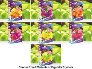 Blue Bird Veg Jelly Crystals Choose from 7 Variants 100 Gm each from India