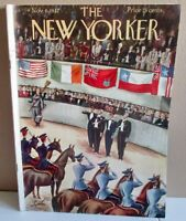 New Yorker Complete Magazine --Nov. 6 1937- w/ Horse Show John Cheever/ $15. OFF