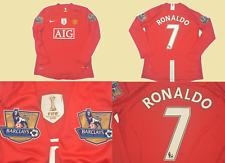 manchester united 2008 2009 shirt jersey PREMIER LEAGUE model fifa ronaldo 08 09