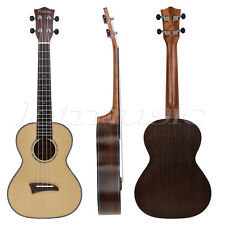 Kmise Solid Spruce Top Tenor Ukulele 26 inch Hawaii Guitar Musical Instruments
