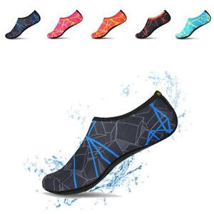 Mens Water Shoes Aqua Socks Beach Diving Swim Yoga Wetsuit Non Slip UK Size