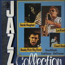 "Jazz collection (Lee Konitz, Buddy rich, Count Basie) 10 LP BOX 12"" Curcio Jazz"