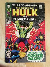 Tales to Astonish #99 (Jan 1967), Hulk, Sub-Mariner, VG