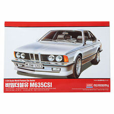 ACADEMY 1/24 BMW M635CSI Plastic Model / Figuer /Toy / Car