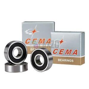 Cema Bearing #6805, Ceramic Bike Wheel Hub Bearings 25 x 37 x 7mm