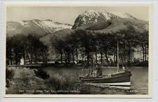 (w11a2-223) RP, Ben Nevis From Caledonian Canal c1930 Unused  B4303