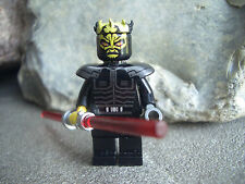 Lego Figur Sith Savage Opress - Star Wars - Laserschwert - aus Set 7957 - TOP