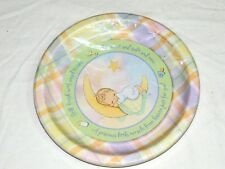 NEW~PRECIOUS MOMENTS~ 8-LUNCH PLATES-BABY SHOWER- PARTY SUPPLIES