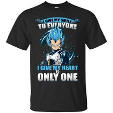 Cool Vegeta Shirt Super Saiyan Men Dragonball T-Shirt Fan Son Goku Anime Clothes