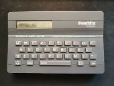 Franklin Computer Spelling Ace crossword help Webster Sa-98 free shipping tested