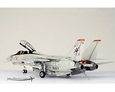 F-14D Tomcat USN VF-41 Black Aces, AJ100, USS Enterprise 1:72 Diecast JC WINGS