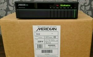 MERIDIAN 504 AUDIOPHILE FM STEREO RADIO TUNER IN EXCELLENT CONDITION WITH BOX