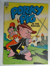 Porky Pig Four Color #191, To the Rescue, Fine-, 5.5, White Pages
