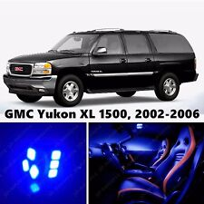 14pcs LED Blue Light Interior Package Kit for GMC Yukon XL 1500, 2002-2006