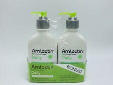 AmLactin Daily Moisturizing Body Lotion 7.9 Ounce (Pack of 2) Bottles,