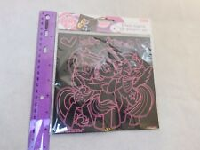 My Little Pony Scratch Art Activity Set 2 Sheets Applejack Rainbow Dash Twilight