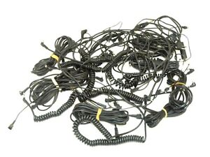 Job Lot of Flash Sync Cables - Various Sizes / Lengths - 30+ In Total - Bargain!
